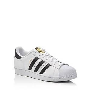 adidas Men's Superstar Sneakers  - Male - White - Size: 8.5