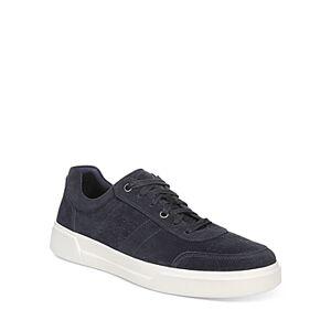 Vince Men's Barnett Suede Low-Top Sneakers  - Male - Coastal - Size: 8.5