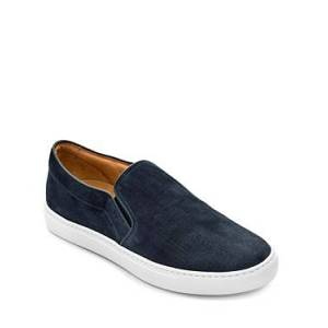 To Boot New York Men's Cordoba Scratched Slip On Sneakers  - Male - Blue - Size: 11