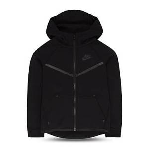Nike Boys' Tech Fleece Zip Hoodie - Little Kid  - Male - Trenche - Size: 7