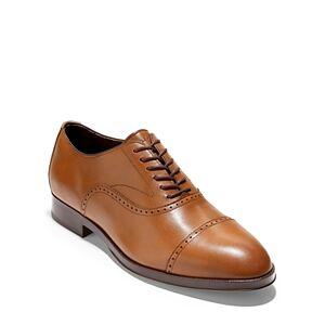 Cole Haan Men's Dawson GD360 Cap Toe Oxford Dress Shoes  - Male - British Tan - Size: Medium