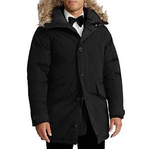 Ralph Lauren Polo Ralph Lauren Annex Faux Fur Trimmed Down Parka  - Male - Polo Black - Size: Small