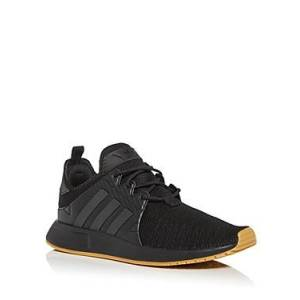 Adidas Men's X PLR Low Top Sneakers  - Male - Black - Size: 9.5
