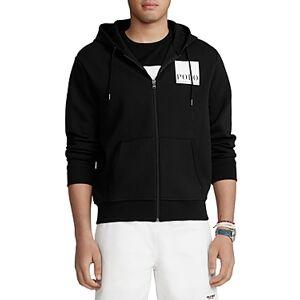 Ralph Lauren Polo Ralph Lauren Logo Double Knit Hoodie  - Male - Black - Size: Small