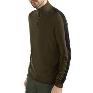 Ted Baker Funnel Neck Sweater  - Male - Khaki - Size: 5X-Large