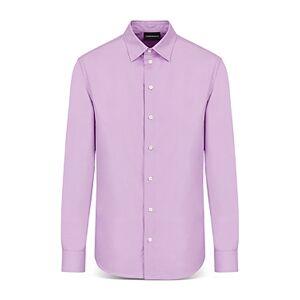 Armani Emporio Armani Long Sleeve Collin Shirt  - Male - Solid Light - Size: Medium