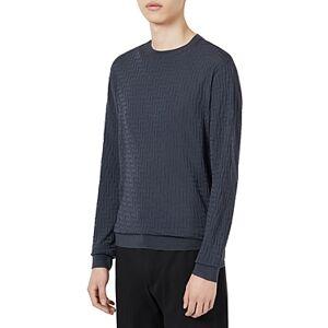 Armani Emporio Armani Wool Pullover Sweater  - Male - Solid Medium - Size: Small