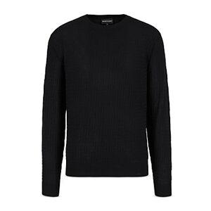 Armani Emporio Armani Pullover Wool Sweater  - Solid Medium - Size: Medium