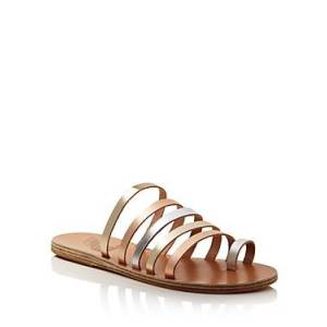 Ancient Greek Sandals Women's Niki Metallic Leather Sandals