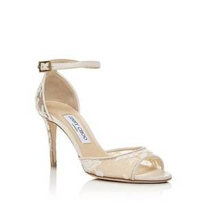 Jimmy Choo Women's Annie 85 Ankle-Strap Pumps - 100% Exclusive  - Female - Ivory - Size: 11 US / 41 IT