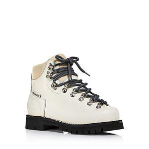 Proenza Schouler Women's Lace-Up Boots  - Female - White - Size: 8 US / 38 EU
