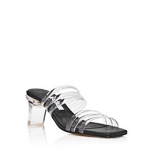 Miista Women's Helena Slip On Sandals  - Female - Black - Size: 3