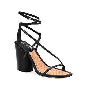 Salvatore Ferragamo Women's Strappy High-Heel Sandals  - Female - Nero - Size: 6