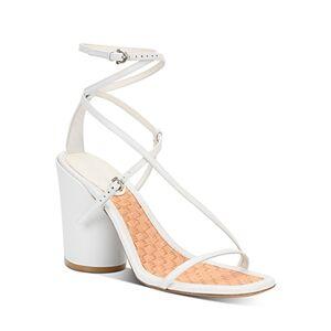 Salvatore Ferragamo Women's Strappy High-Heel Sandals  - Female - New Bianco - Size: 7.5