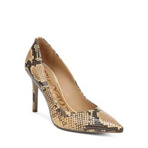 Sam Edelman Women's Hazel Pointed Toe High-Heel Pumps  - Female - Wheat - Size: 6