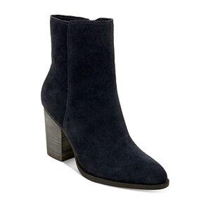 Splendid Women's Kimberly High Heel Booties  - Female - Navy Suede - Size: 5.5