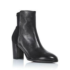 Stuart Weitzman Women's Harper High Heel Booties  - Female - Black - Size: 5