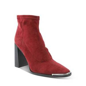 BCBGeneration Women's Anlico High Heel Booties Comparable value $139  - Female - Burgundy - Size: 7.5