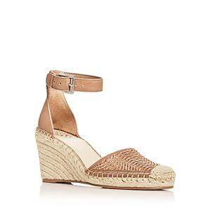 Vince Camuto Women's Valissa Espadrille Wedge Sandals  - Female - Medium Beige - Size: 8.5