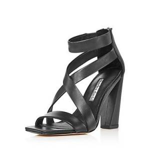 Charles David Women's Vanguard Strappy High-Heel Sandals  - Female - Black - Size: 11
