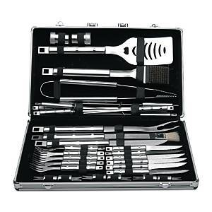 BergHOFF Cubo 33-Piece Bbq Set with Case  - No Color