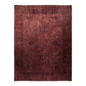 Bloomingdale's Vibrance M1625 Area Rug, 9'2 x 11'7  - Chocolate