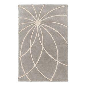 Surya Forum Area Rug, 12' x 15'  - Medium Gray/Cream