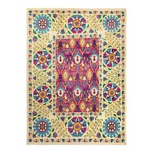 Bloomingdale's Suzani M1750 Area Rug, 9'2 x 12'5  - Ivory
