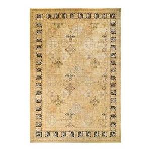 Bloomingdale's Eclectic M1320 Area Rug, 12'2 x 18'1  - Unisex - Gold