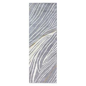 Bashian Greenwich Hg-378 Runner Area Rug, 2'6 x 8'  - Grey