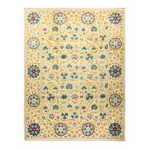 Bloomingdale's Suzani M1625 Area Rug, 9' x 12'2  - Ivory