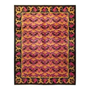 Bloomingdale's Arts & Crafts M1636 Area Rug, 10'3 x 13'2 - 100% Exclusive  - Black