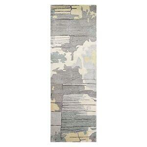 Bashian Greenwich Hg-377 Runner Area Rug, 2'6 x 8'  - Ivory