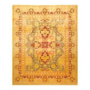 Bloomingdale's Eclectic M1625 Area Rug, 8'2 x 9'10  - Yellow
