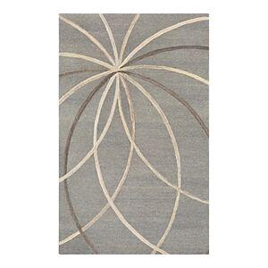 Surya Forum Fm-7217 Area Rug, 12' x 15'  - Unisex - Medium Gray/Cream