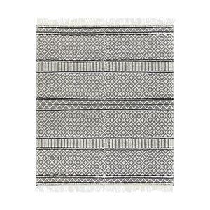 Surya Farmhouse Tassels Fts-2300 Area Rug, 9' x 12'  - Gray