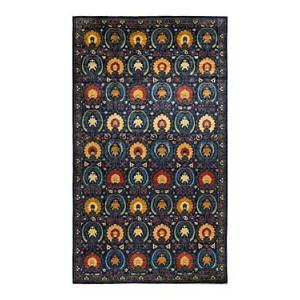Bloomingdale's Suzani M1705 Area Rug, 8'2 x 15'1  - Navy