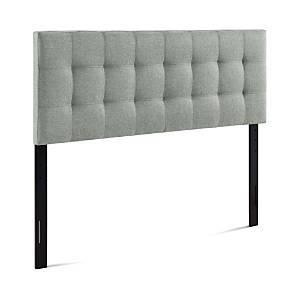 Modway Lily Upholstered Fabric Headboard, Full  - Gray