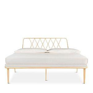 Safavieh Gatsby Bed - Queen  - Gold