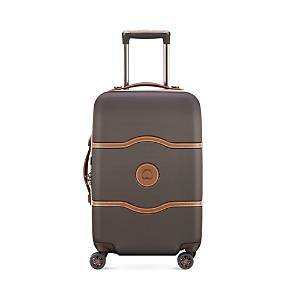Delsey Chatelet Air 28 Expandable Spinner  - Chocolate