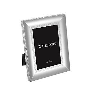 Waterford Lismore Diamond Frame, 5 x 7  - Silver