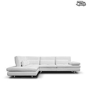 Giuseppe Nicoletti Serena Square Corner 2-Piece Sectional - 100% Exclusive  - Off White