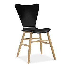 Modway Cascade Wood Dining Chair  - Black