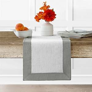 Villeroy & Boch New Wave Table Runner, 14 x 70  - White/Silver