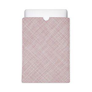 Chilewich Mini Basketwave Laptop Sleeve, Large Tablet  - Blush