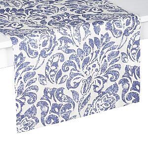 Mode Living Santorini Table Runner, 16 x 108  - Blue