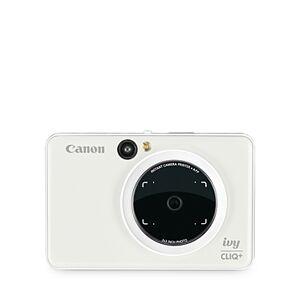 Canon Ivy Cliq+ Instant Camera & Portable Printer + App  - Unisex - White