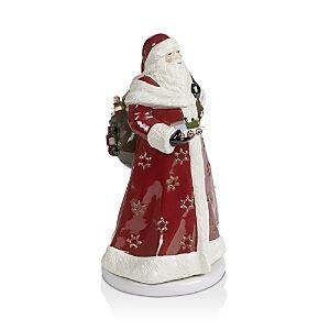 Villeroy & Boch Christmas Toys Memory Musical Santa Figurine  - Santa/turn