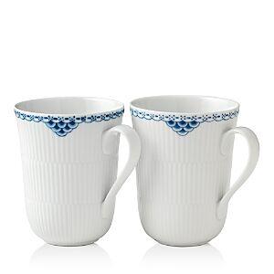 Royal Copenhagen Princess Mug, Set of 2  - Two Tone