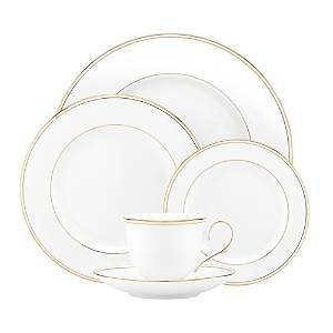 Lenox Federal Gold 5-Piece Place Setting  - White/24K Gold